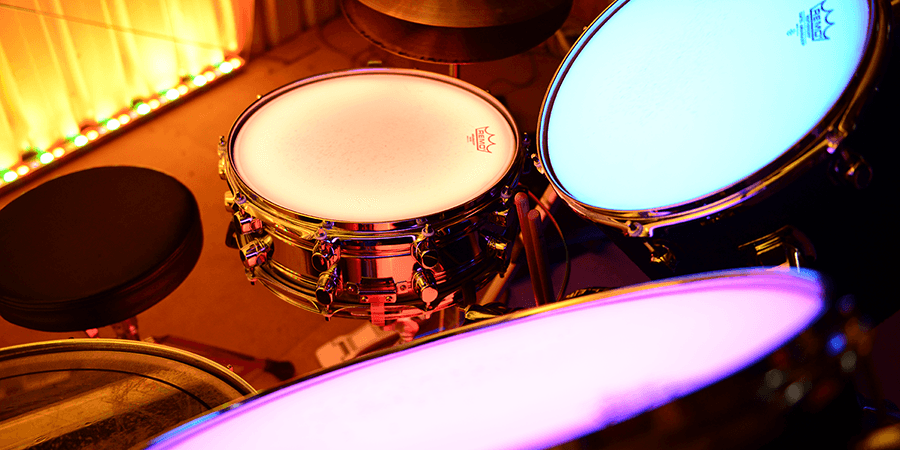 Custom LED Drum Kit